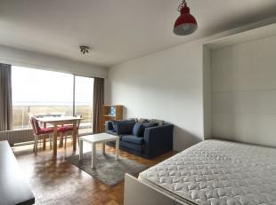Bruxelles-Centre / Yser - Magnifique appartement studio composé d'un hall d'entrée avec vestiaires, une lumineuse pièce de vie de