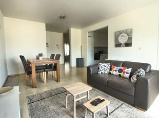 Quartier Yser - Dans un immeuble de 2008, magnifique appartement de +/-80m² composé d'un spacieux hall dentrée, un beau et lumineux