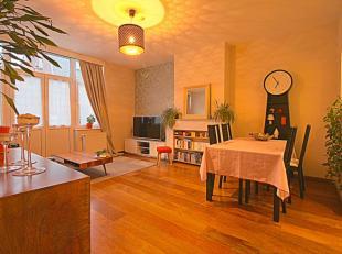 Quartier Chartreux - Dans une belle maison de 1908 - Magnifique appartement de 2chambres de +/-70m² avec balcon. Il se composant comme suit: Hall
