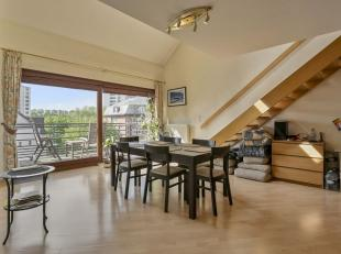 Prox. OTAN/NATO:  Superbe appartement duplex penthouse de +/-135m² avec 2 terrases de +/-80m². Il se compose d'un hall d'entrée avec