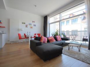 Louise - Bel appartement 2 chambres meublé de +/- 90m² avec terrasse - Situé au 3ème au étage d'un immeuble de 6 &eac