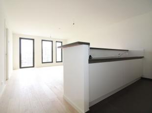 Dicht bij  place du jardin aux fleurs - Ruime appartement van +/- 100m², eerste bezetting. Samengesteld uit: inkomhall met kleedkamer, een woonka