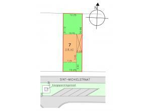 """Perceel bouwgrond bestemd voor een gesloten bebouwing.<br /> <br /> Lot 7 van de verkaveling """"Schans Driessen III"""", goedgekeurd bij Ministerieel Beslu"""