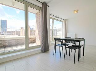 Gloednieuw en bemeubeld appartement op het eilandje nabij het MAS.<br /> <br /> Dit mooie nieuwbouwappartement beschikt over een zonnige leefruimte me
