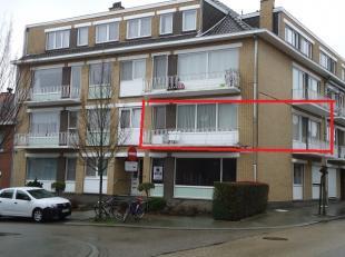 Gunstig gelegen instapklaar, ruim appartement gelegen op de 1 ste verdieping met 2 slaapkamers en 2 terrassen. Indeling: zeer ruime en lichte inkomhal