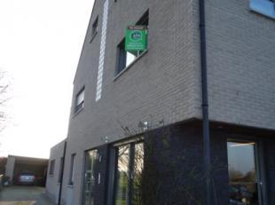 Instapklaar, recent 1 slaapkamer dakappartement met terras(op de benedenverdieping), carport + autostaanplaats gelegen in Rapertingen. Rustige ligging