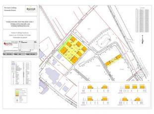 Het betreft een sociale verkaveling van 11 bouwloten gelegen te Riemst - Vroenhoven - Bloesemstraat. De verkoopprijs van deze sociale kavels is gelege