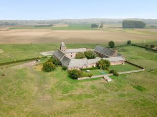 Deel van hoeve met historisch karakter, gerenoveerd, op 2ha5, idyllische ligging In de hoeve van Abbaye, gebouwd in de 18e eeuw door de cistercië