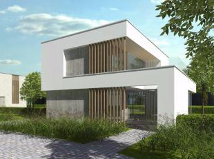 """Moderne energiezuinige (BEN) woning met 3 slaapkamers. Deze villawoning maakt deel uit van het nieuwbouwproject """"Domein Groenhof"""" en wordt volgens het"""