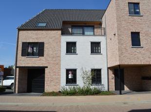 Mooi afgewerkt nieuwbouwappartement in het hartje van Vorselaar. Dit appartement bevindt zich op de eerste verdieping. Het bestaat uit inkomhal, apart