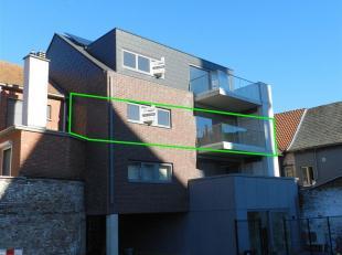 Ruim appartement op de tweede verdieping met een bewoonbare oppervlakte van 100 m2 gelegen te Zoutleeuw, Kapelstraat 1 B 3, Residentie Dry Croonen. Di