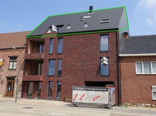 Modern en ruim dakappartement met alle comfort en terras gelegen te Hoegaarden, Ernest Ourystraat 30 Bus 5, totale oppervlakte van 113 m2, derde verdi