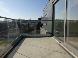 Instapklaar dakappartement op de derde verdieping met een bewoonbare oppervlakte van 83 m2 gelegen te Zoutleeuw, Kapelstraat 1 B 4, Residentie Dry Cro