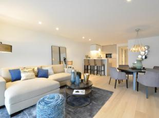 """Schitterend gemeubeld appartement met garage, gelegen in eennieuwe residentie """"Les Voiles""""op Zeedijk Zoute, tussen het Albertplein en de Minigolf...Sa"""