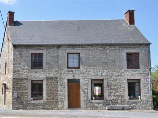 Cette chaleureuse habitation est idéalement située à Baronville (à 5 min du centre de Beauraing).<br /> Celle-ci dispose s