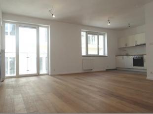 Dans un tout nouvel immeuble de standing, appartement, en plein coeur du quartier européen, comprenant living avec cuisine américaine &e