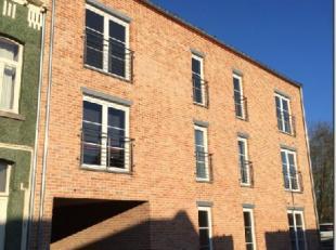 A 7km de Ath, dans le village de Brugelette, belle construction de 2014, magnifique appartement au 1er étage comprenant living, salle à