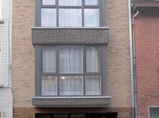 Inkom, keuken, berging, woonkamer, badkamer, 1 slaapkamer, terras, individuele centrale verwarming op aardgas.