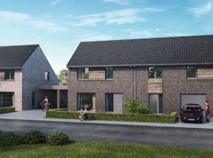 Au cours de la première phase de ce nouveau projet de construction, 7 maisons seront réalisées possédant chaque fois un ga