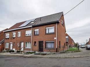 Habitation idéalement située à proximité du centre du village de Dottignies.La maison est située dans une rue tr&eg