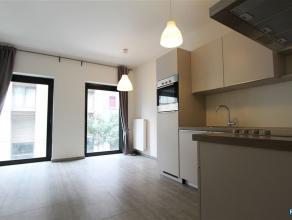Op het eilandje op wandelafstand van het MAS zeer recent1-slpk appartement op de 1e verdieping. Appartement beschikt over leefruimte met open keuken (