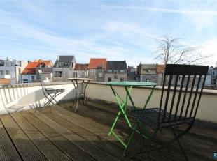 TOP LOCATION (ZUID): FULLY FURNISHED 1 BEDROOM APARTMENT! Op toplocatie Antwerpen Zuid in karaktervol gebouw gemeubeld 1 slpk appartement met terras.