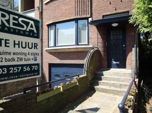 Huis met 4 slaapkamers te huur in Antwerpen (+ deelgemeenten ...