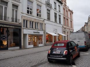 Appartement op de tweede verdieping met leefruimte, keuken, 1 slaapkamer, badkamer met douche en apart toilet. Leuk gelegen in het centrum van Brugge