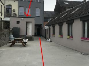 Agréable et lumineux appartement de +/- 73  m², situé au rez-de-chaussée. Actuellement Composé en 3 parties (ancienne