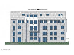 Parcelle de terrain à bâtir de 908 m² avec projet de construction d'un immeuble à appartement comprenant 9 lots, compos&eacut