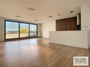 Entre l'Avenue Louise et les Etangs d'Ixelles, dans une petite copropriété de standing, splendide penthouse de ± 120 m² avec