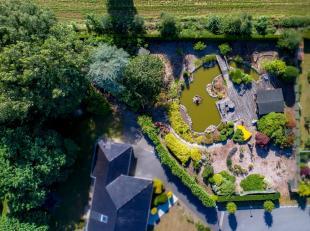 """Westelijk georiënteerd lot bouwgrond 1.223m² in residentiële """"bloemenwijk"""" in Maldegem.<br /> Op dit lot zijn zowel 1 open bebouwing al"""
