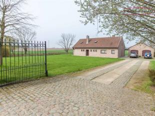 Landelijk gelegen villawoning te Wortegem met uitzonderlijk verzicht over de velden (beschikbaar vanaf 1/7/2018) INDELING: Ruime inkomhal met apart to