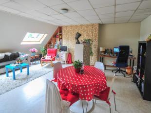 Gezellig dakappartement op de 3de verdieping nabij de Sint-Michielsbrug.<br /> Het appartement bestaat uit een inkomhal, een ruime woonkamer met inger