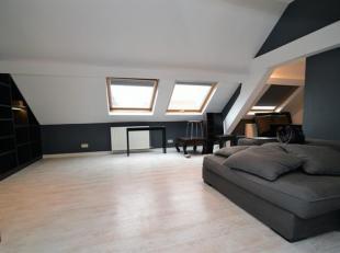 Bruxelles centre : Quartier Anspach - Lemonnier, très bel Appartement rénové avec beaucoup de goût sis au dernier ét