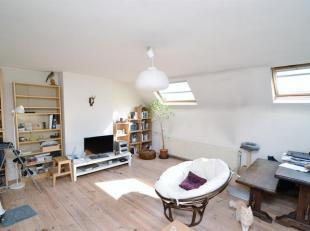 Schaerbeek: Quartier Voltaire dans une petite copropriété sans charges, bel Appartement Duplex de 110m² composé : Hall d'ent