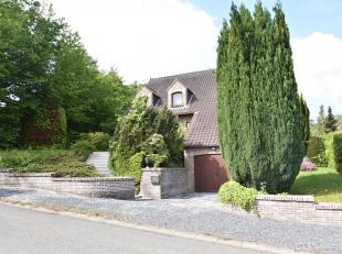 Chaumont-Gistoux : Dans un quartier calme et résidentiel belle Villa 4 façades de 300 m² brut sur un terrain de 7 ares 99 orient&ea