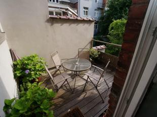 SAINT-GILLES : A la limite d'Ixelles dans le quartier Jonction - Ma Campagne, bel appartement de caractère de 85m² rénové si
