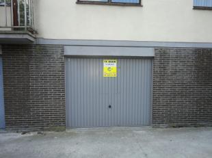 Gesloten garagebox te huur op gunstige locatie!