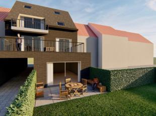 Roeselare Residentie 22 : Nieuwbouw-appartement van op het eerste verdiep voorzien van 1 SLPK en een volledig geïnstalleerde open keuken met zuid