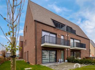 Roeselare-Rumbeke : Nieuwbouwappartement met 2 slaapkamers en tof terras / tuin op het gelijkvloersDit toffe appartement op het gelijkvloers bestaat u
