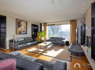 Roeselare-stadskern. UITZONDERLIJKE PENTHOUSE van 300m2 woonoppervlakte met 3 slaapkamers en prachtig dakterras en zicht op de stad. LUXE afwerking. D