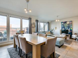Appartement prêt à emménager dans le centre de Waregem avec 2 chambres à coucher, 2 terrasses et possibilité dachete