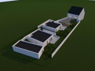 Deze projectgrond is gelegen in de Langestraat te Aalst. De grond is geschikt voor het oprichten van 4 appartementen met 4 autostaanplaatsen, 2 bungal