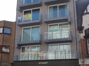 Duplex-appartement met 1 slpk op de 5e en 6e verdieping van de standingvolle nieuwbouwresidentie STUART in het hartje van de winkelstraat te Nieuwpoor