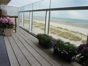 Exclusief top-appartement met 2 slpk en slaaphoek gelegen op de 5e verdieping van de recente prestigieuze residentie Asterie op de zeedijk te Nieuwpoo
