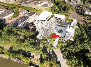 """Commerciële ruimte opgeleverd casco te koop, gelegen in het prachtige project """"Nautilus"""". Duplex met gelijkvloers van 187m ² - verdieping va"""