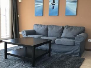 Gemeubeld appartement te huur in Hasselt. Ligging in de Ertbeekstraat in Runkst. Wandelafstand van station (2min) en centrum Hasselt (10min). Enkele m