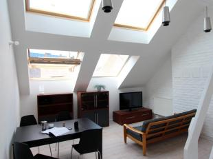 Apartment for rent in Brussels :<br /> furnished Apartment Brussels for rent<br /> <br /> Superbly situated<br /> Loft: open spaces<br /> Extremely ni
