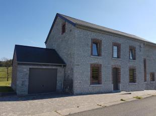 Ferme entièrement rénovée située dans un cadre bucolique à 6km de Durbuy centre, Barvaux, Hamoir Les alentours sont classés zones vertes, donc impossi
